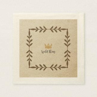 Wild Thing Vine Napkin Paper Serviettes