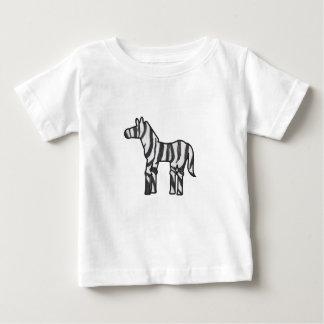 Wild Thing Zebra Baby T-Shirt