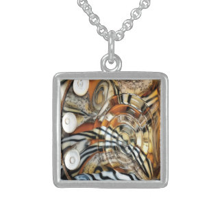 Wild tiger, animal, africa, safari, photography sterling silver necklace