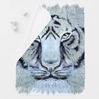 Wild tiger baby blanket