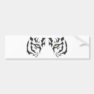 Wild Tiger Eyes Bumper Sticker