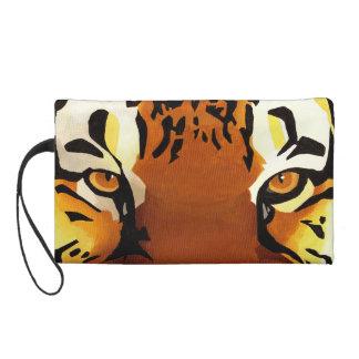 Wild Tiger Wristlet Purses