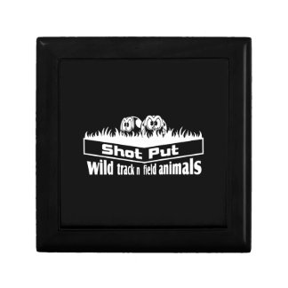 wild track and field animals gift box