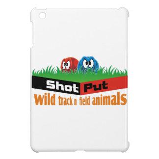 Wild track and field animals iPad mini cover