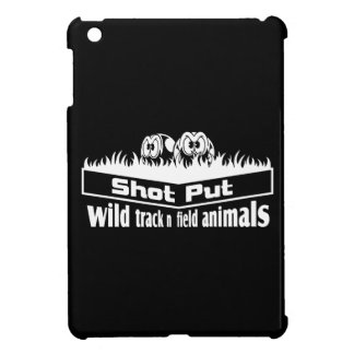 wild track and field animals iPad mini covers