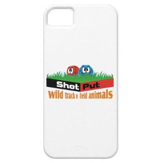 Wild track and field animals iPhone 5 cover