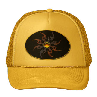 Wild tribal sun hat