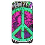 Wild Trippy Hippie Peace Sign