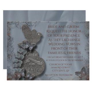 Wild Tundora Wedding Invitation