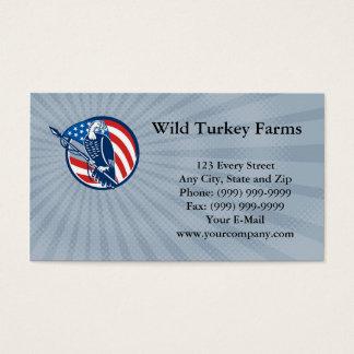 Wild Turkey Farms Business card