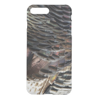 Wild Turkey Feathers I Abstract Nature Design iPhone 8 Plus/7 Plus Case