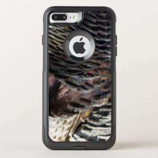 Wild Turkey Feathers I Abstract Nature Design OtterBox Commuter iPhone 8 Plus/7 Plus Case
