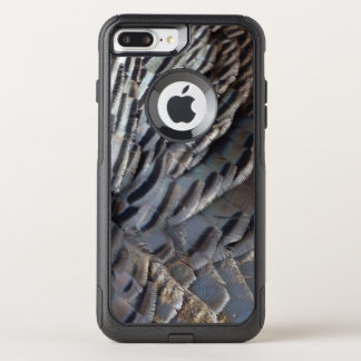 Wild Turkey Feathers II Abstract Nature Design OtterBox Commuter iPhone 8 Plus/7 Plus Case