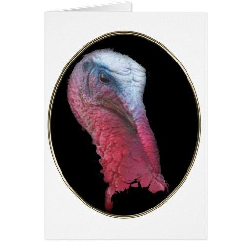 Wild Turkey Head Cards