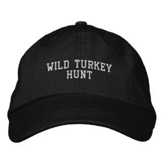 WILD TURKEY HUNT EMBROIDERED HATS