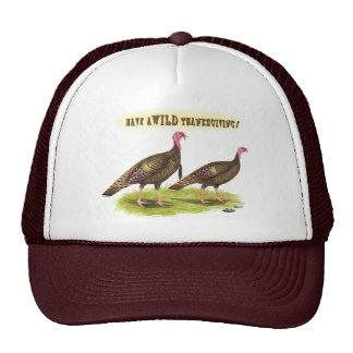 Wild turkey Thanksgiving Cap