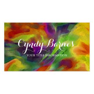 Wild Tye Dye Business Card