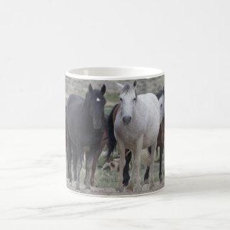 Wild Utah Mustangs Basic White Mug