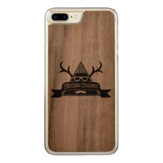 Wild Vintage Project Wooden iPhone 6 Plus Carved iPhone 8 Plus/7 Plus Case
