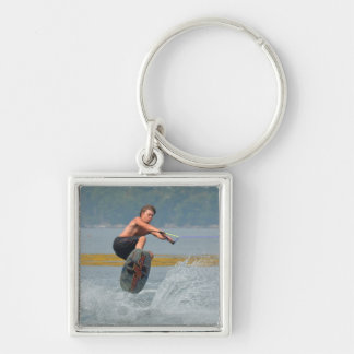 Wild Wakeboarder Keychain