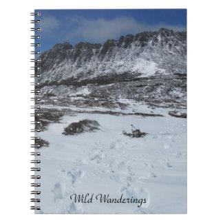 Wild Wanderings mountain notebook