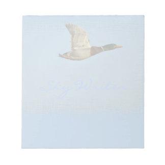Wild Water Fowl Wildlife Bird-lover Duck design Notepad