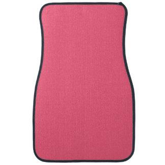 WILD WATERMELON PINK (solid color background) ~ Floor Mat