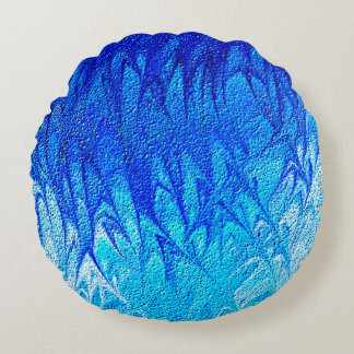 Wild Waves Round Cushion