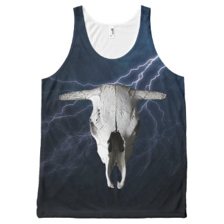 WILD WEST All-Over PRINT TANK TOP