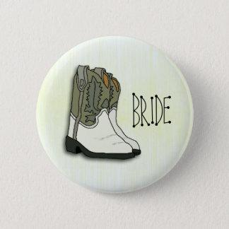 Wild West Bride Wedding Pin
