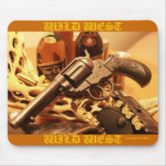 Wild west Colt Lightning revolver cool mousepad