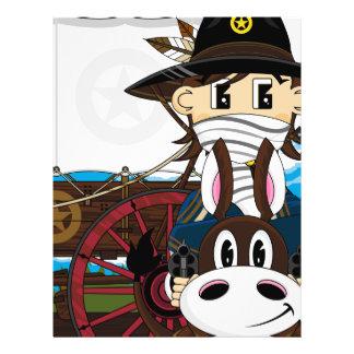 Wild West Cowboy Sheriff Flyer