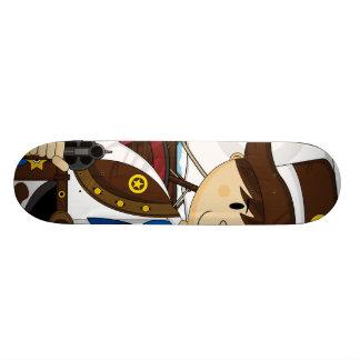 Wild West Cowboy Skateboard