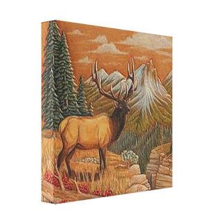 """""""Wild West/Landscape"""" CANVAS PRINT 12X12"""
