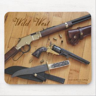 Wild West mousepad design