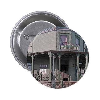Wild West Saloon 6 Cm Round Badge