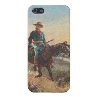 Wild West Vintage Cowboy iPhone 5/5S Covers