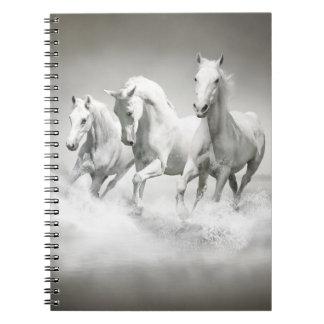 Wild White Horses Notebook