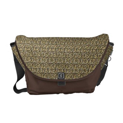 Wild Wicker Courier Bag