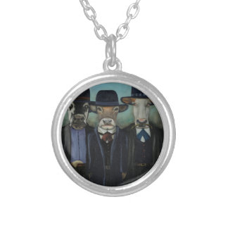 Wild Wild West Silver Plated Necklace