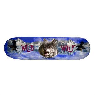WILD WOLF EAGLE Wildlife-lover Skateboard