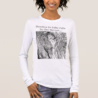 wild-womyn, Resolve to take fate by the throat... Long Sleeve T-Shirt