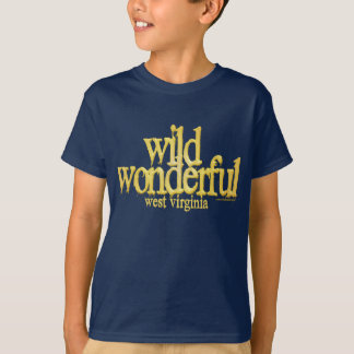 Wild Wonderful West Virginia-Yellow T-Shirt