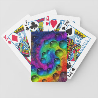 Wild World Bicycle Playing Cards