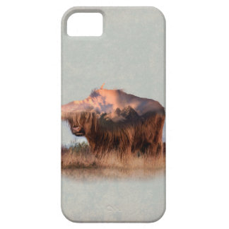 Wild yak - Yak nepal - double exposure art - ox Case For The iPhone 5