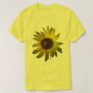 Wild Yellow Daisy on Yellow Shirt