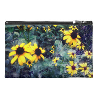 Wild Yellow Flowers Travel Accessory Bags