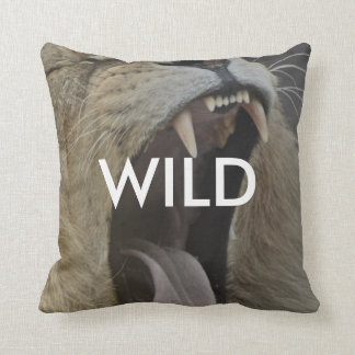 Wild (Young and Free) Cushion