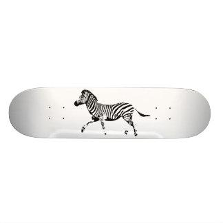 Wild Zebra 19.7 Cm Skateboard Deck