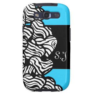 Wild zebra hearts BlackBerry Samsung Galaxy Case Samsung Galaxy SIII Covers